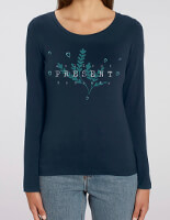 collect present moments organic long sleeve t shirt