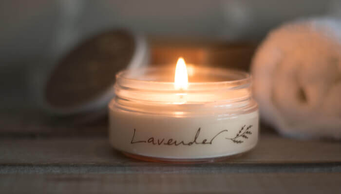 travel candle lavender #6
