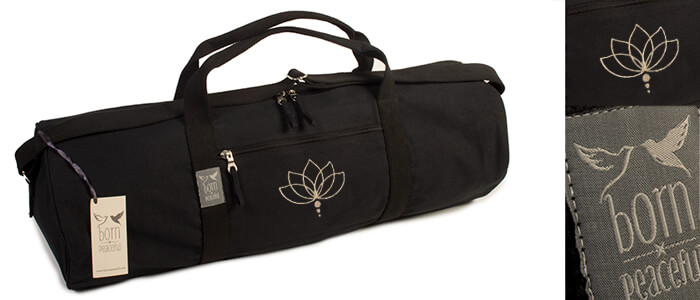 lotus yoga mat bag