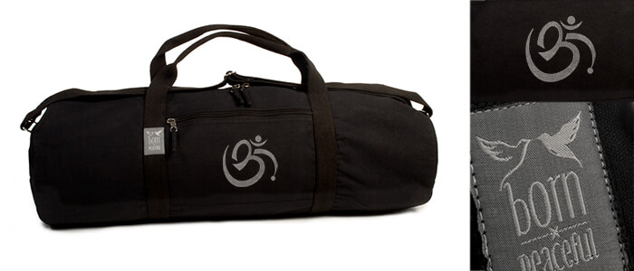 om yoga mat bag
