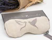peaceful doves lavender & flaxseed eye pillow